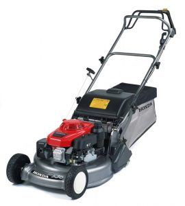 Honda HRD 536 QXE self propelled lawnmower, available from Meldrums Garden Machinery and Equipment, Cupar, Fife
