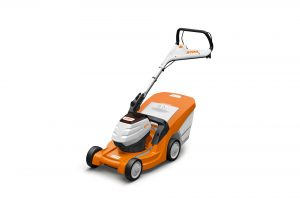STIHL RMA 443 C cordless lawnmower available from Meldrums Garden Machinery and Equipment, Cupar, Fife