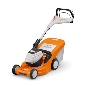 STIHL 448 VC Cordless Lawnmower available from Meldrums Garden Machinery and Equipment, Cupar, Fife