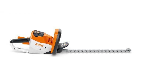 STIHL HSA 56 cordless hedge trimmer available from Meldrums Garden Machinery and Equipment, Cupar, Fife