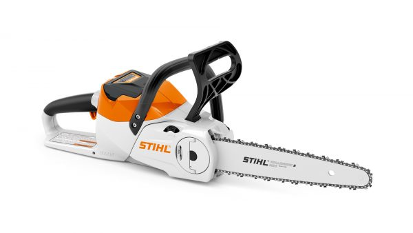 Stihl MSA 120 CB cordless chainsaw shell only, available from Meldrums Garden Machinery and Equipment, Cupar, Fife