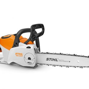 STIHL MSA 220 C-B cordless chainsaw available from Meldrums Garden Machinery and Equipment, Cupar, Fife