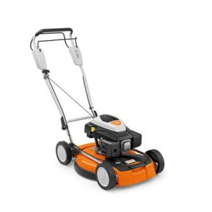 STIHL RM 4 RT petrol, self-mulching lawnmower available from Meldrums Garden Machinery and Equipment, Cupar, Fife