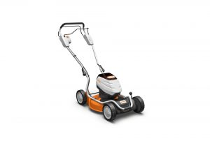STIHL RMA 2 RT cordless lawnmower available from Meldrums Garden Machinery and Equipment, Cupar, Fife