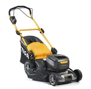 Stiga Combi 950 SQ AE Cordless Lawnmower available from Meldrums Garden Machinery & Equipment, Cupar, Fife