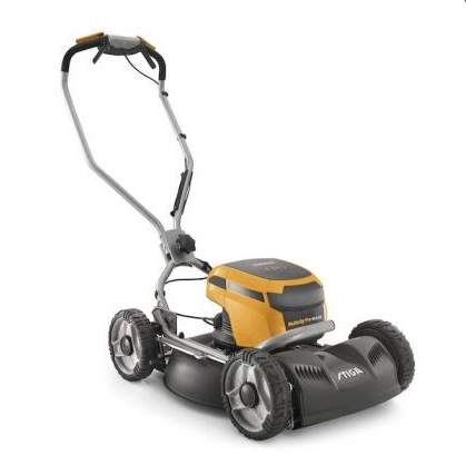 Stiga Multiclip Pro 50 S AE Cordless Lawnmower available from Meldrums Garden Machinery & Equipment, Cupar, Fife