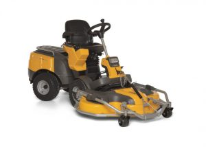 Stiga Park Pro 740 IOX ride on mower available from Meldrums Garden Machinery and Equipment, Cupar, Fife