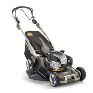 Stiga Twinclip 50 SVEQ B self-propelled lawnmower available from Meldrums Garden Machinery & Equipment, Cupar, Fife