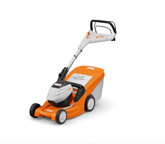 Stihl RMA 443 VC cordless lawnmower available from Meldrums Garden Machinery and Equipment, Cupar, Fife
