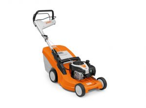 Stihl RM 448 TC petrol lawnmower available from Meldrums Garden Machinery and Equipment, Cupar, Fife