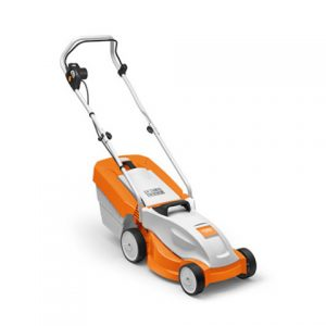 Stihl RME 235 electric lawnmower available from Meldrums Garden Machinery and Equipment, Cupar, Fife