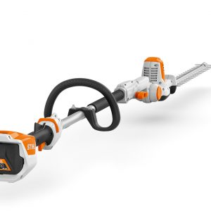 STIHL HLA 56 cordless long reach hedge trimmer available from Meldrums Garden Machinery and Equipment Cupar, Fife
